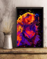 Golden Retriever Water Color 16x24 Poster lifestyle-poster-3