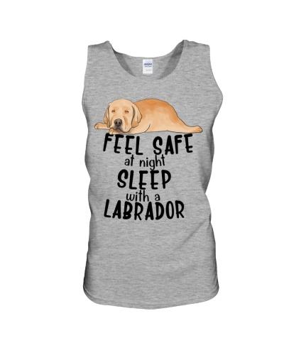 Labrador Seel Safe At Night Sleep