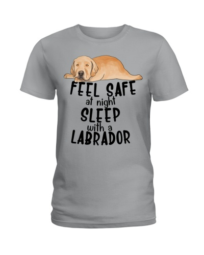 Labrador Seel Safe At Night Sleep