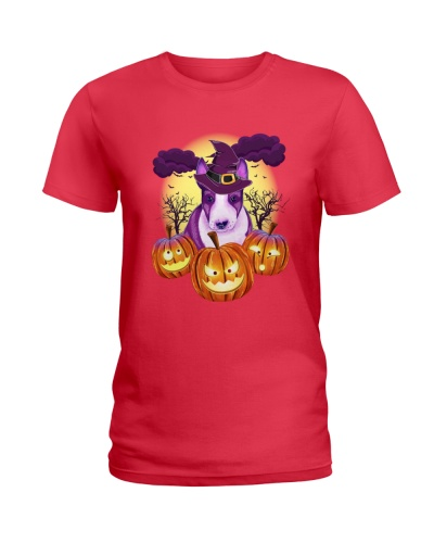 Bull Terrier Halloween