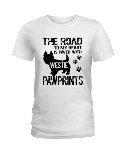 Westie Pawprint
