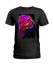 Dogue Water Color Art C10 Ladies T-Shirt thumbnail