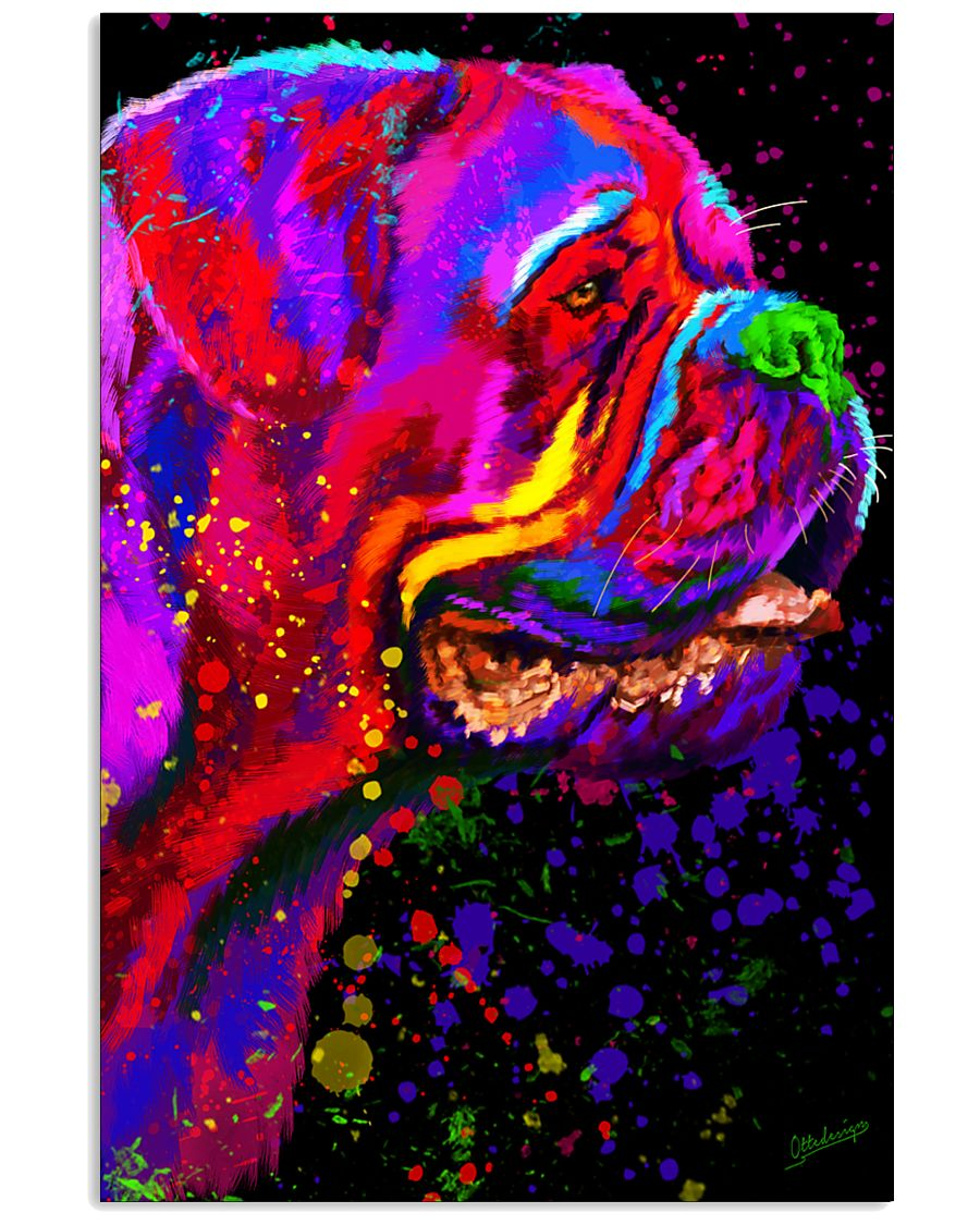 Dogue Water Color Art C10 16x24 Poster