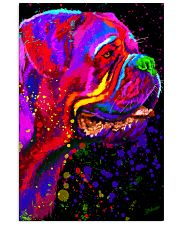 Dogue Water Color Art C10 16x24 Poster front