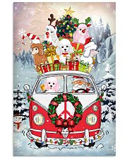 Poodle Christmas Gift 24x36 Poster front