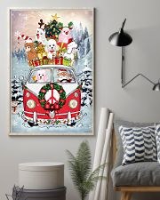 Poodle Christmas Gift 24x36 Poster lifestyle-poster-1
