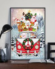 Poodle Christmas Gift 24x36 Poster lifestyle-poster-2