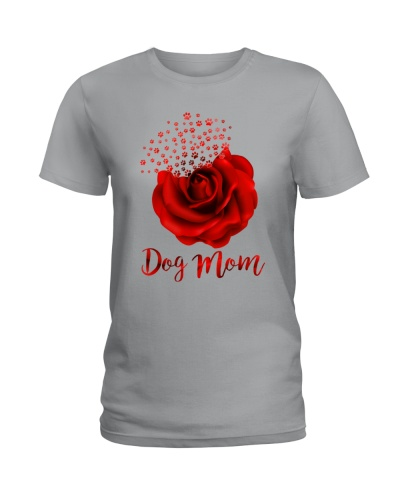 Dog Mom Black T-shirt