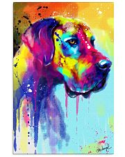 Great Dane Water Color Art Flow R10 11x17 Poster front