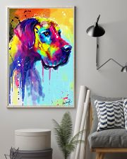 Great Dane Water Color Art Flow R10 11x17 Poster lifestyle-poster-1