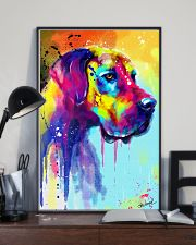 Great Dane Water Color Art Flow R10 11x17 Poster lifestyle-poster-2