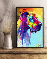 Great Dane Water Color Art Flow R10 11x17 Poster lifestyle-poster-3
