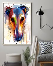 Greyhound Face Art Flow  11x17 Poster lifestyle-poster-1