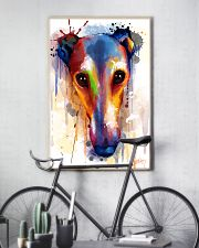 Greyhound Face Art Flow  11x17 Poster lifestyle-poster-7