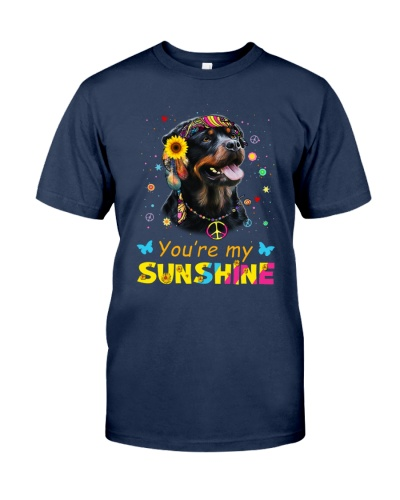 You Are My Sunshire Rottweiler Dog