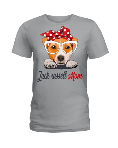 FUNNY JACK RUSSELL MOM SHIRT