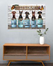 Doberman its ok 36x24 Poster poster-landscape-36x24-lifestyle-21