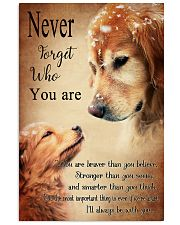 Golden Never Forget 16x24 Poster front