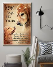 Golden Never Forget 16x24 Poster lifestyle-poster-1