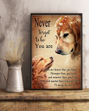 Golden Never Forget 16x24 Poster lifestyle-poster-3