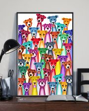 Jack Russell multi 16x24 Poster lifestyle-poster-2