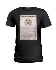 Cocker Spaniel Poster House Rules Ladies T-Shirt thumbnail