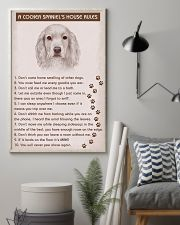 Cocker Spaniel Poster House Rules 11x17 Poster lifestyle-poster-1