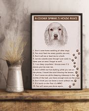 Cocker Spaniel Poster House Rules 11x17 Poster lifestyle-poster-3