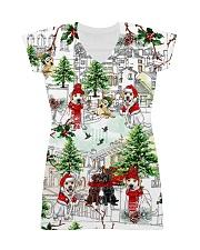 Labrador Christmas  All-over Dress thumbnail