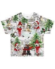 Labrador Christmas  All-over T-Shirt front