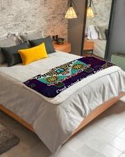 "Bulldog Fleece Blanket Sherpa Fleece Blanket - 50"" x 60"" aos-sherpa-fleece-blanket-lifestyle-front-01"