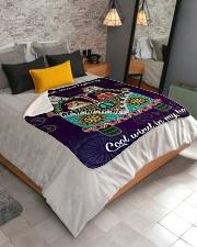 "Bulldog Fleece Blanket Sherpa Fleece Blanket - 50"" x 60"" aos-sherpa-fleece-blanket-lifestyle-front-02"