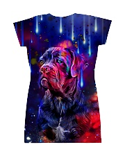 Cane corso galaxy All-over Dress back