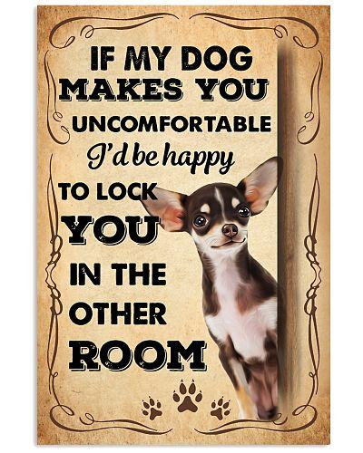 Chihuahua  Uncomfortable