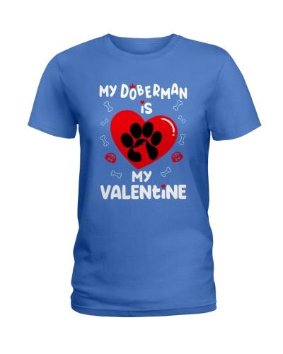 Doberman valentine