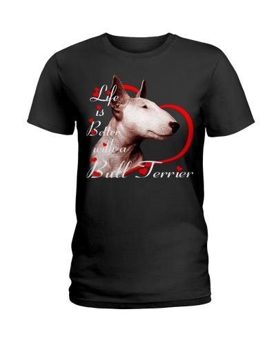 Bull Terier Life Is Better