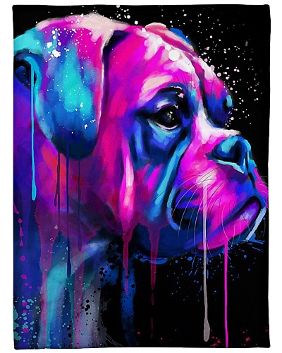 Boxer Water Color