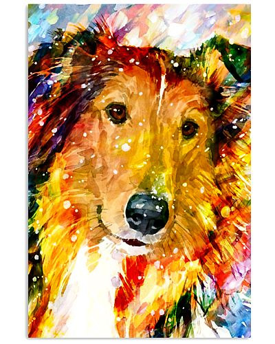 Border Collie Poster Full Color