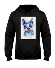 French bulldog Water Color Art Flow X10 Hooded Sweatshirt thumbnail