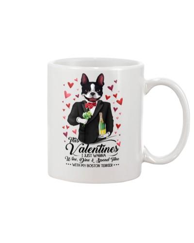 Boston Terrier Valentine Day