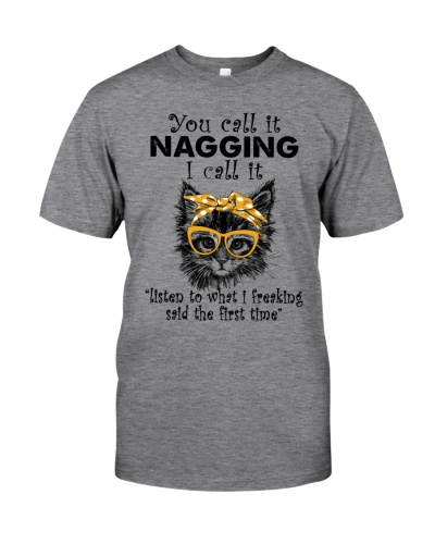 Cat You Call It Nagging