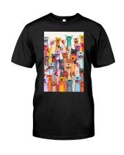 PITBULL MULTI POSTER Classic T-Shirt thumbnail