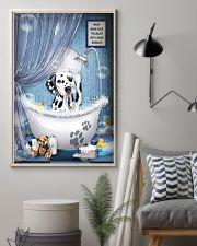 Dalmatian bathroom 16x24 Poster lifestyle-poster-1