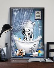 Dalmatian bathroom 16x24 Poster lifestyle-poster-2
