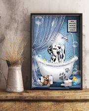 Dalmatian bathroom 16x24 Poster lifestyle-poster-3
