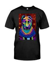 PITBULL POSTER ART PAINTING  Classic T-Shirt thumbnail