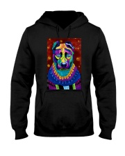 PITBULL POSTER ART PAINTING  Hooded Sweatshirt thumbnail