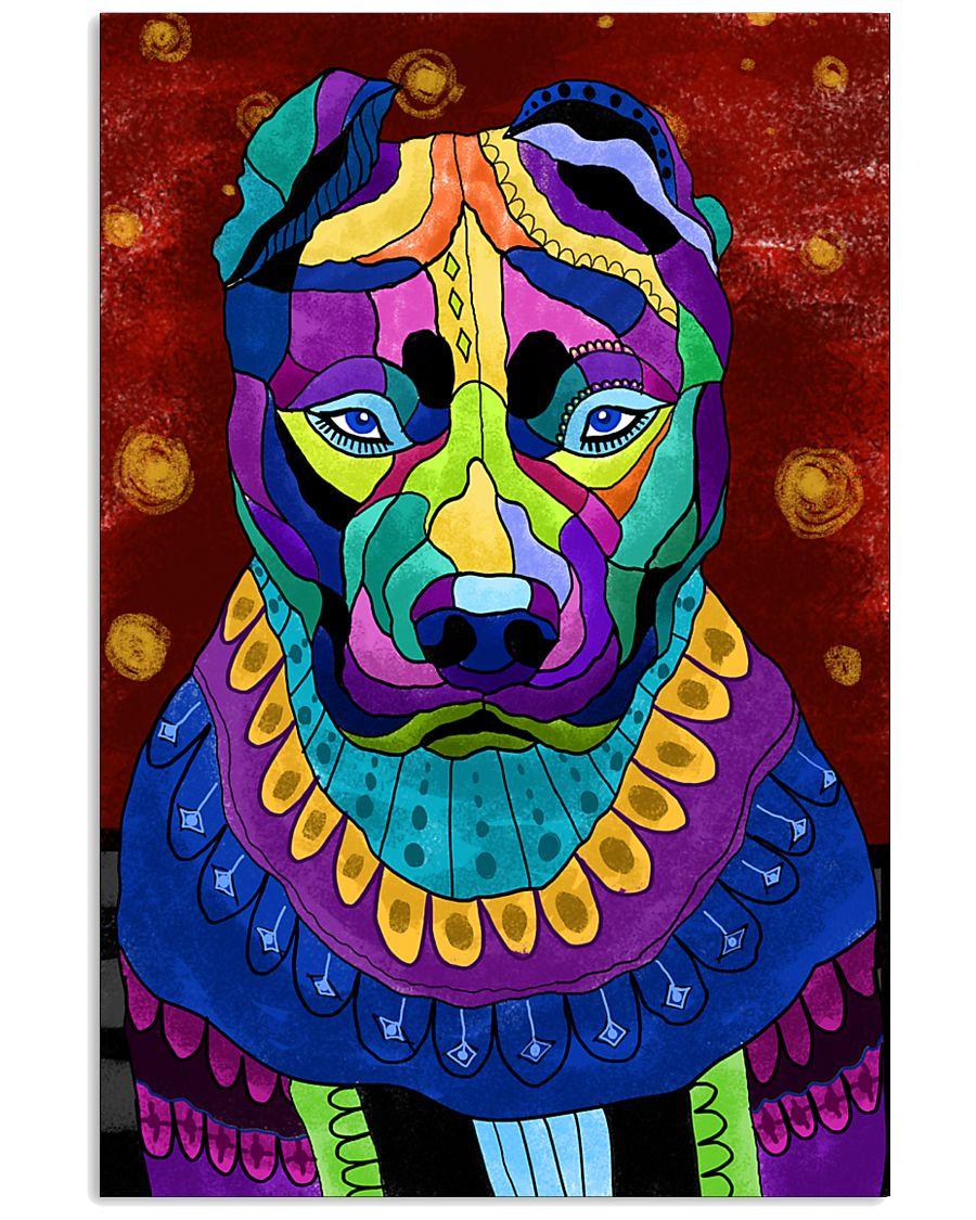 PITBULL POSTER ART PAINTING  24x36 Poster