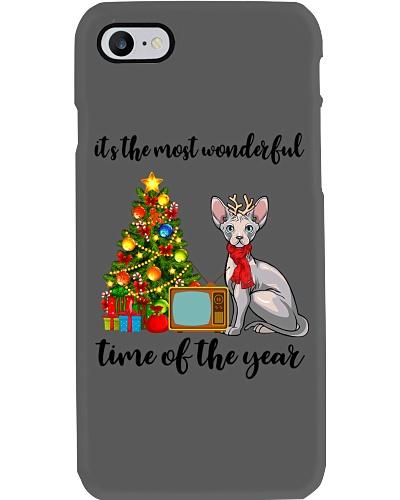 Sphynx Cat christmas
