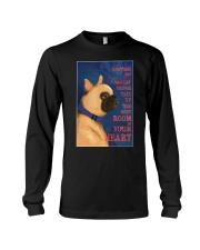 French bulldog In Your Heart Long Sleeve Tee thumbnail